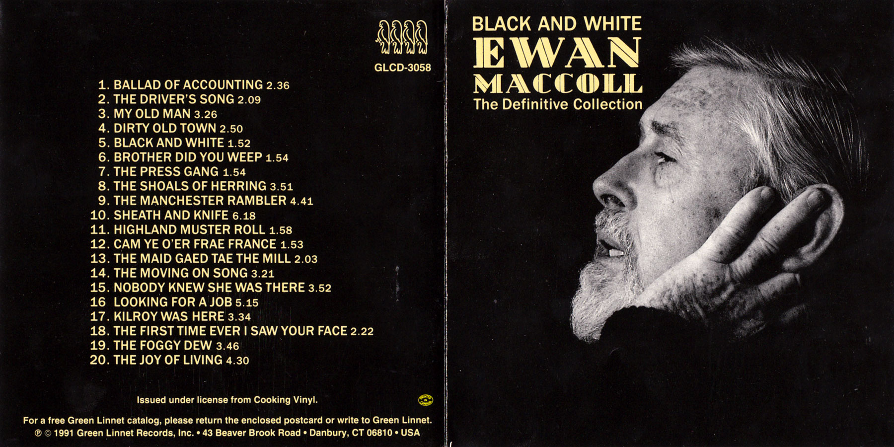 Black And White The Definitive Collection Ewan Maccoll