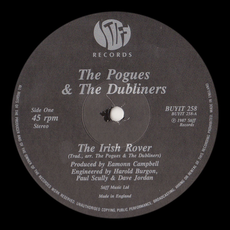 rover singles The irish rover pogues/dubliners on top of the pops on the fourth of july, 1806 we set sail from the sweet cove of cork we were sailing away with a cargo of bricks.
