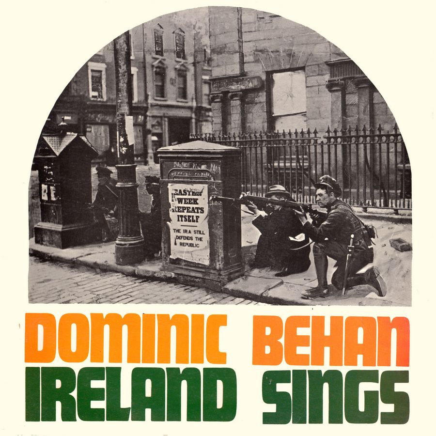 Terre celtiche blog: Fronte Copertina dell'album Ireland Sings di Dominic Behan